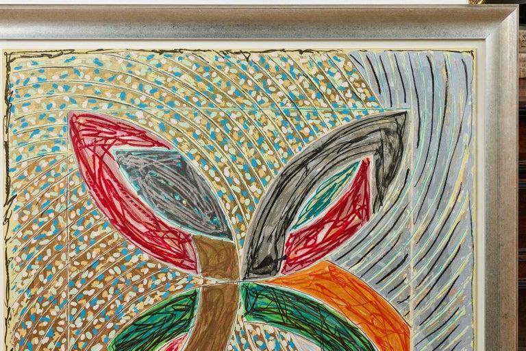 1980, Frank Stella, Color Lithograph In Good Condition For Sale In Newport Beach, CA