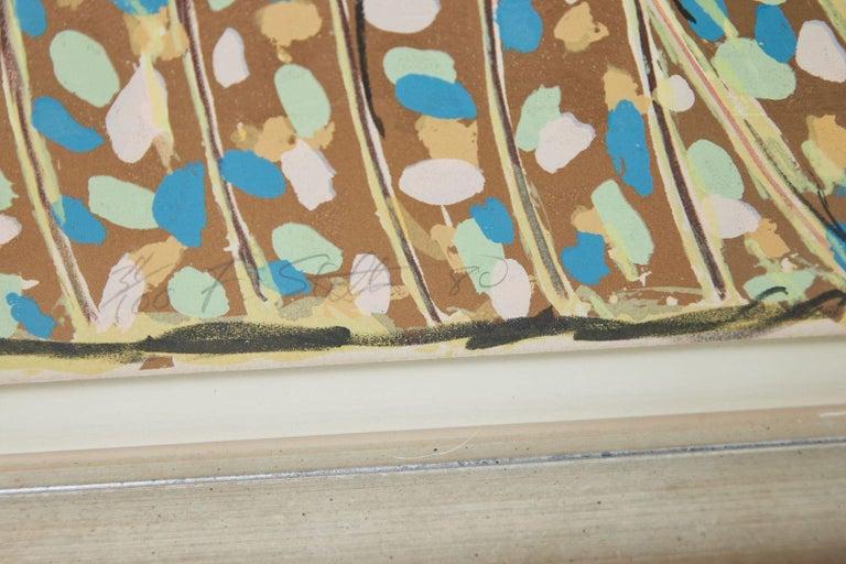 Paper 1980, Frank Stella, Color Lithograph For Sale