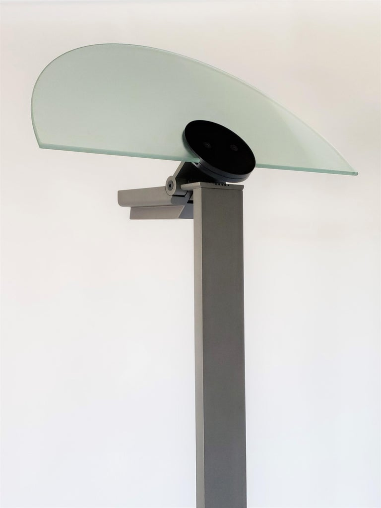 1980 Hans Von Klier 'Diadema' Halogen Floor lamp for Bilumen, Italy For Sale 6