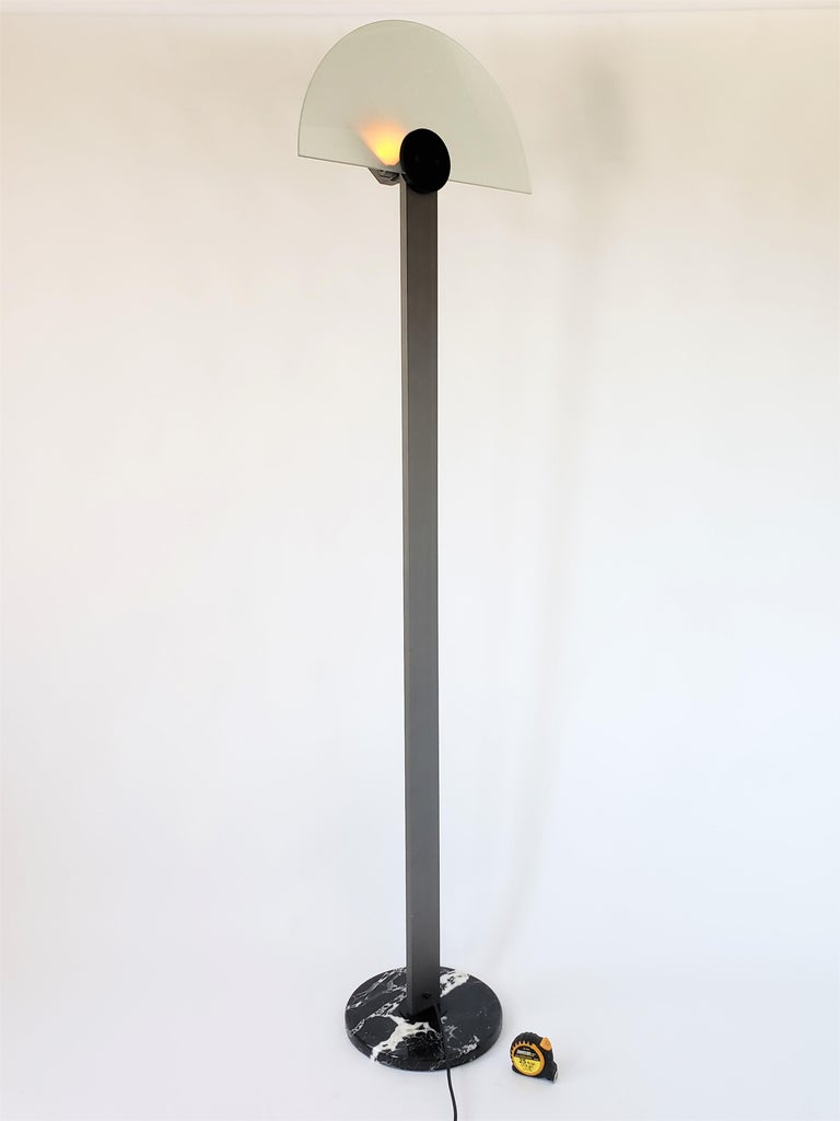 1980 Hans Von Klier 'Diadema' Halogen Floor lamp for Bilumen, Italy For Sale 11