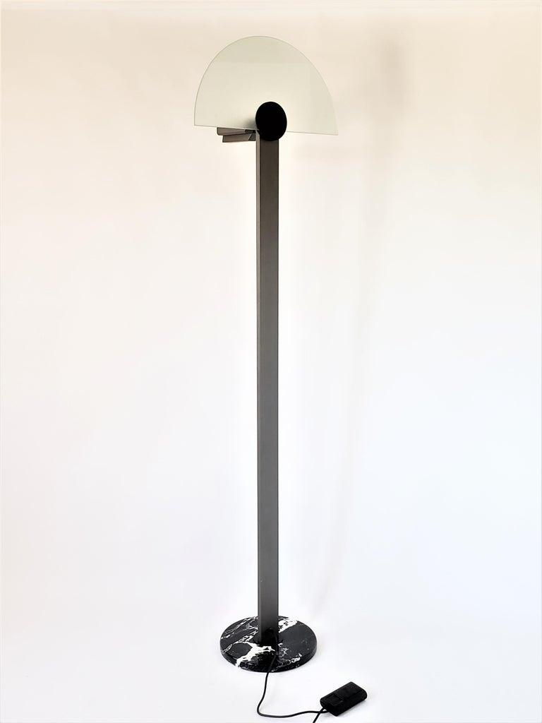 Modern 1980 Hans Von Klier 'Diadema' Halogen Floor lamp for Bilumen, Italy For Sale