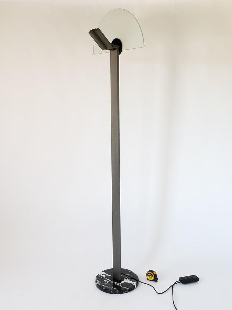 Italian 1980 Hans Von Klier 'Diadema' Halogen Floor lamp for Bilumen, Italy For Sale