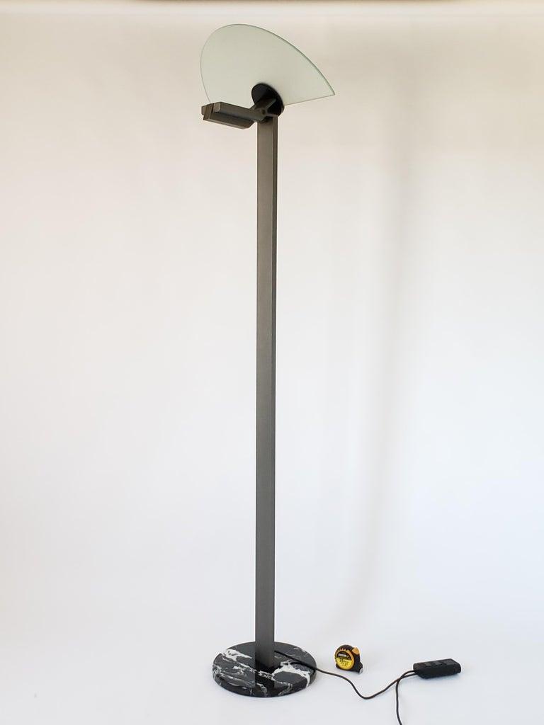 1980 Hans Von Klier 'Diadema' Halogen Floor lamp for Bilumen, Italy In Good Condition For Sale In St- Leonard, Quebec