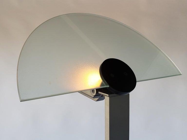 Late 20th Century 1980 Hans Von Klier 'Diadema' Halogen Floor lamp for Bilumen, Italy For Sale