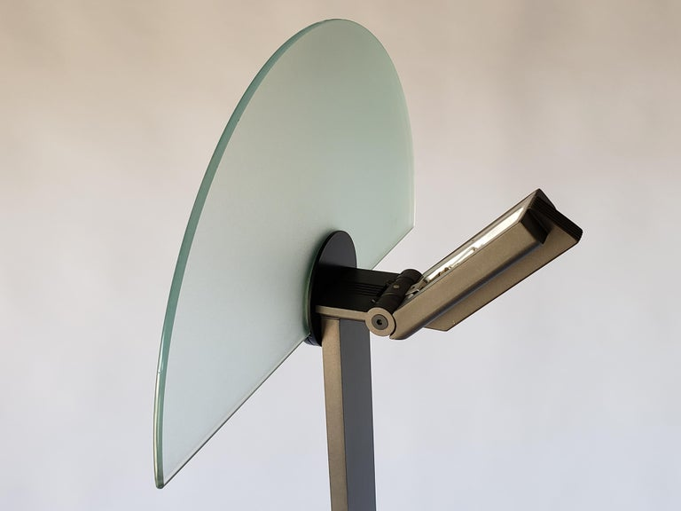 1980 Hans Von Klier 'Diadema' Halogen Floor lamp for Bilumen, Italy For Sale 2