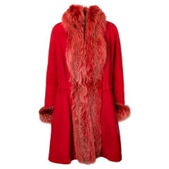 1980s A.N.G.E.L.O. Vintage Cult Fox Fur Coat