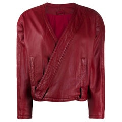 1980s A.N.G.E.L.O. Vintage Cult Leather Jacket