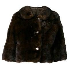 1980s A.N.G.E.L.O. Vintage Cult Mink Crop Fur