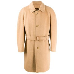 1980s A.N.G.E.L.O. Vintage Cult Wool Belted Coat