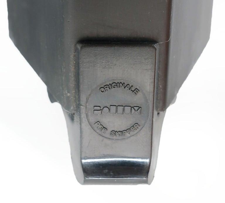 1980s Angular Black Floor Lamps for Pollux Skipper For Sale 2