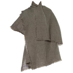 1980s Armani Wool Collection Cape