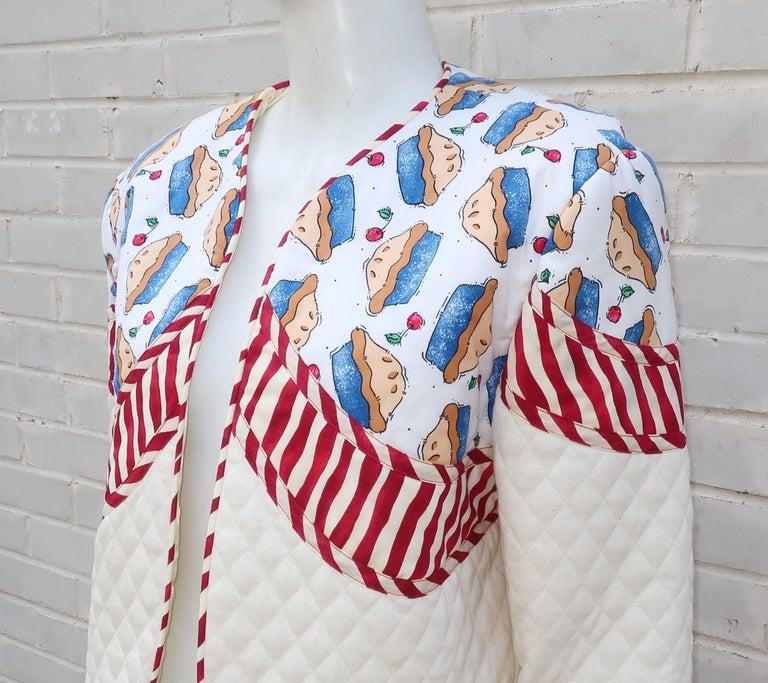 1980's Artisan All American Pop Art Jacket For Sale 1
