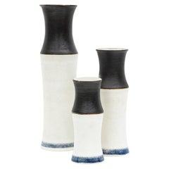 1980s Bamboo Bottles by Bruno Gambone 'B'