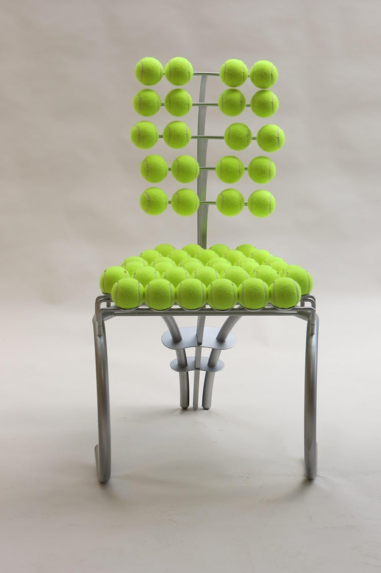 1980s Bespoke Sculptural Tennis Ball Chair Wimbledon Chair For Sale 1