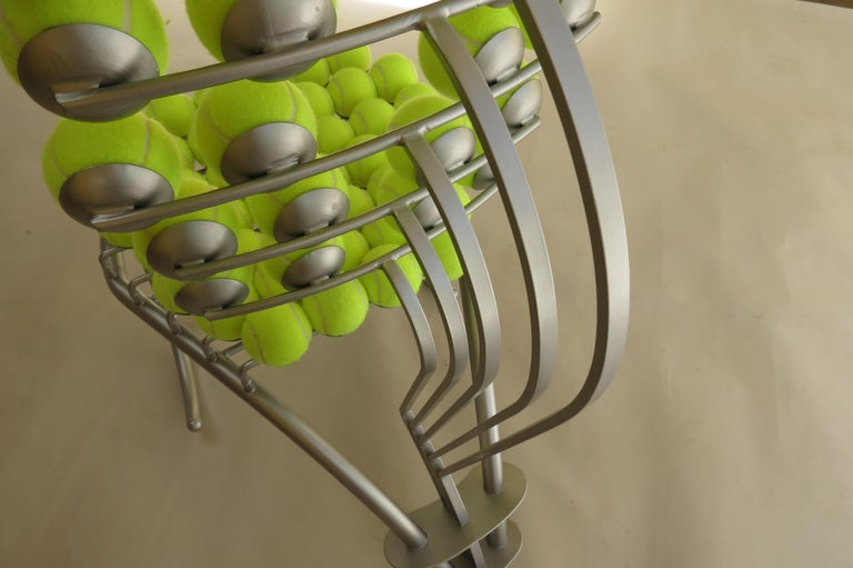 1980s Bespoke Sculptural Tennis Ball Chair Wimbledon Chair For Sale 2