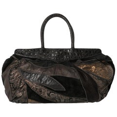 1980s Braccialini Patchwork Bag