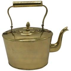 1980s Brass Teapot