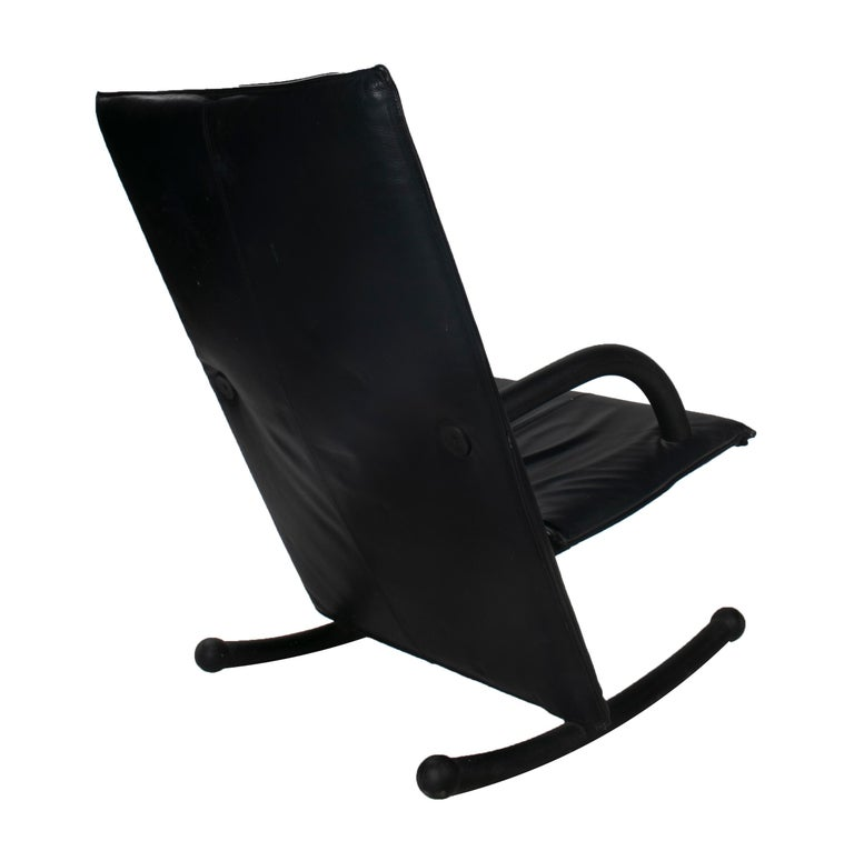 1980s Burkhard Vogtherr T-Line Armchair for Arflex In Good Condition For Sale In Malaga, ES