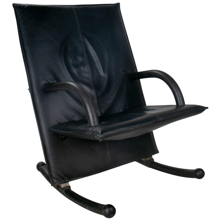 1980s Burkhard Vogtherr T-Line Armchair for Arflex For Sale