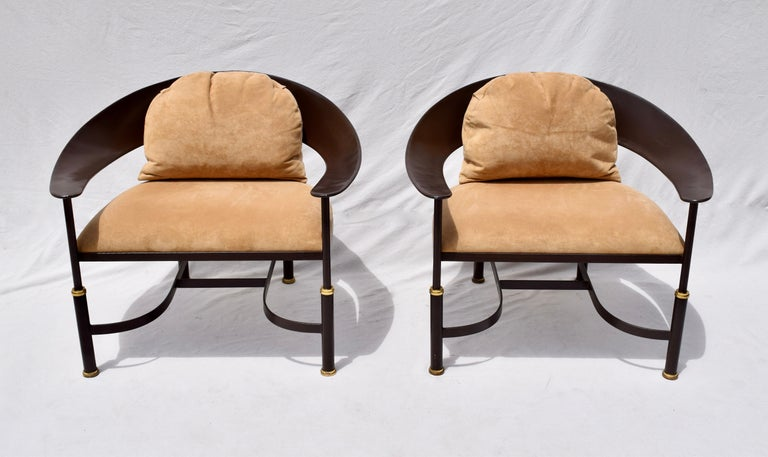 1980s Buying and Design Modern Chairs, Florence, Italy In Good Condition For Sale In Southampton, NJ