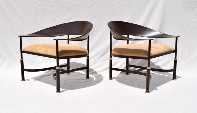 Late 20th Century 1980s Buying and Design Modern Chairs, Florence, Italy For Sale