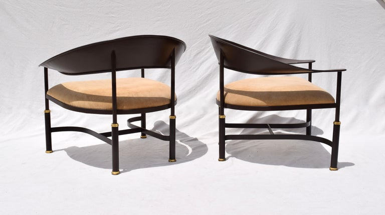 1980s Buying and Design Modern Chairs, Florence, Italy For Sale 2