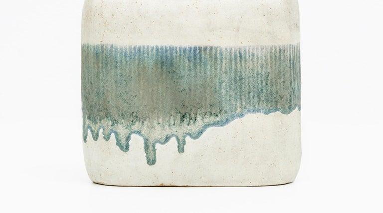 1980s Ceramic Vases by Bruno Gambone 'c' For Sale 4