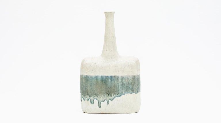 Modern 1980s Ceramic Vases by Bruno Gambone 'c' For Sale