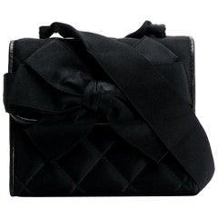 1980s Chanel Black Vintage Small Bag