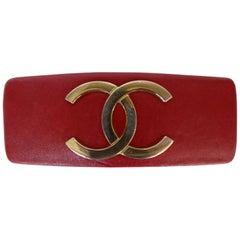 """1980er Jahre, Chanel, Lammfell """"CC"""" Haarspange"""