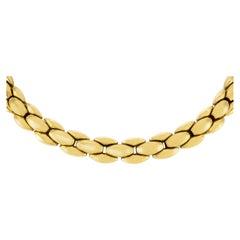 1980s Chocker 18 Karat Necklace
