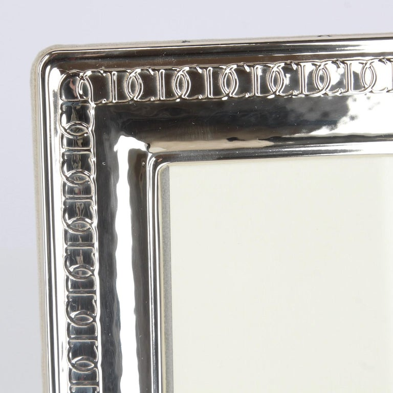 1980s Christian Dior Silver Frame For Sale 2