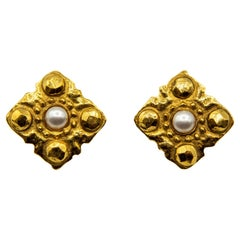 1980s Collection 23 Chanel Clip-on Earrings