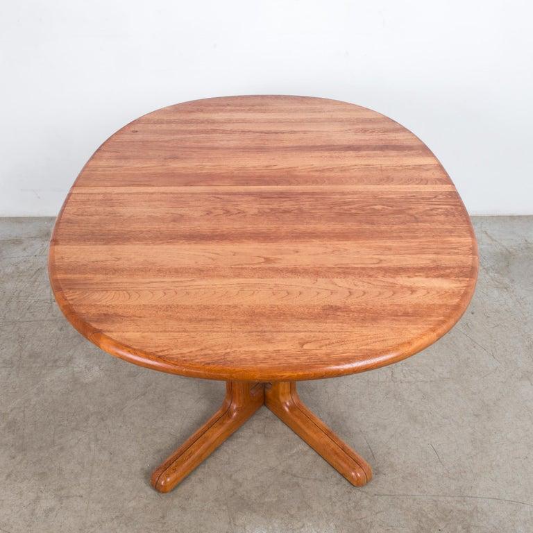 Late 20th Century 1980s Danish Teak Folding Dining Table For Sale