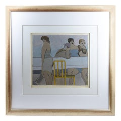 1980s David Schneuer Limited Painting Lithographie