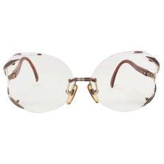 1980'S DIOR Oversized Sunglasses