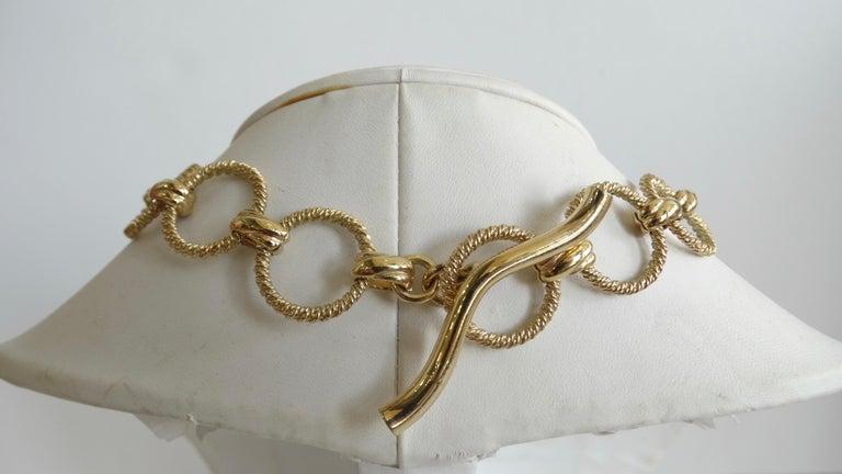 Dominique Aurientis 1980s Wood Pendant Necklace  For Sale 1