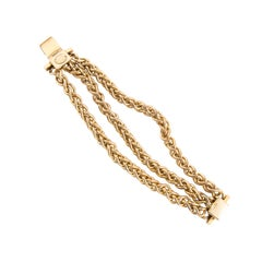 1980s Edouard Rambaud Chain Bracelet
