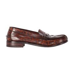 1980s Fendi Monogram Loafers