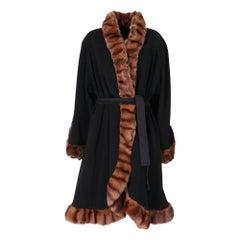 1980s Gai Mattiolo Opossum Fur Coat