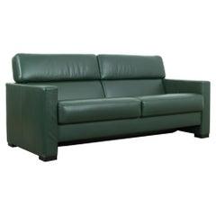 1980s German Leather Sofa by Brühl