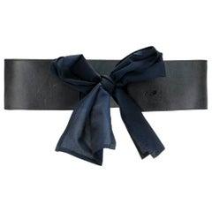 1980s Gianfranco Ferré Large Bow Belt