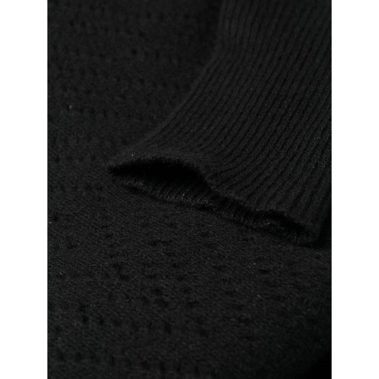 1980s Gianni Versace Black Knitted Dress 3