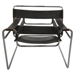 1980s Grey Bauhaus Wassily Chair by Marcel Breuer for Knoll 2 Available B
