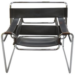 1980s Grey Wassily Chair by Marcel Breuer for Knoll 2 Available A