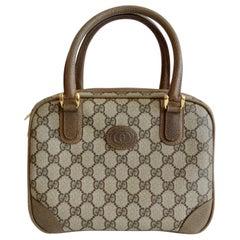 Gucci 1980s Monogram Top Handle Bag
