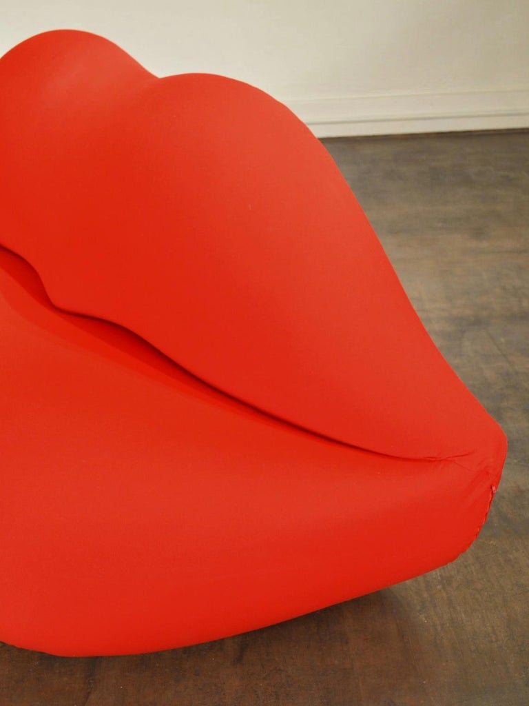 Gufram Vintage Bocca Lips Sofa by Studio 65  4