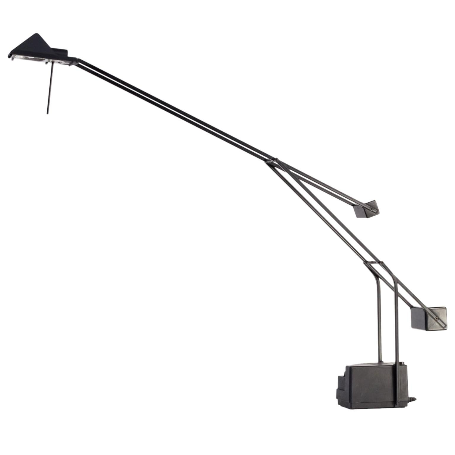 1980s Halogen Counter Balance Desk Lamp for Fase