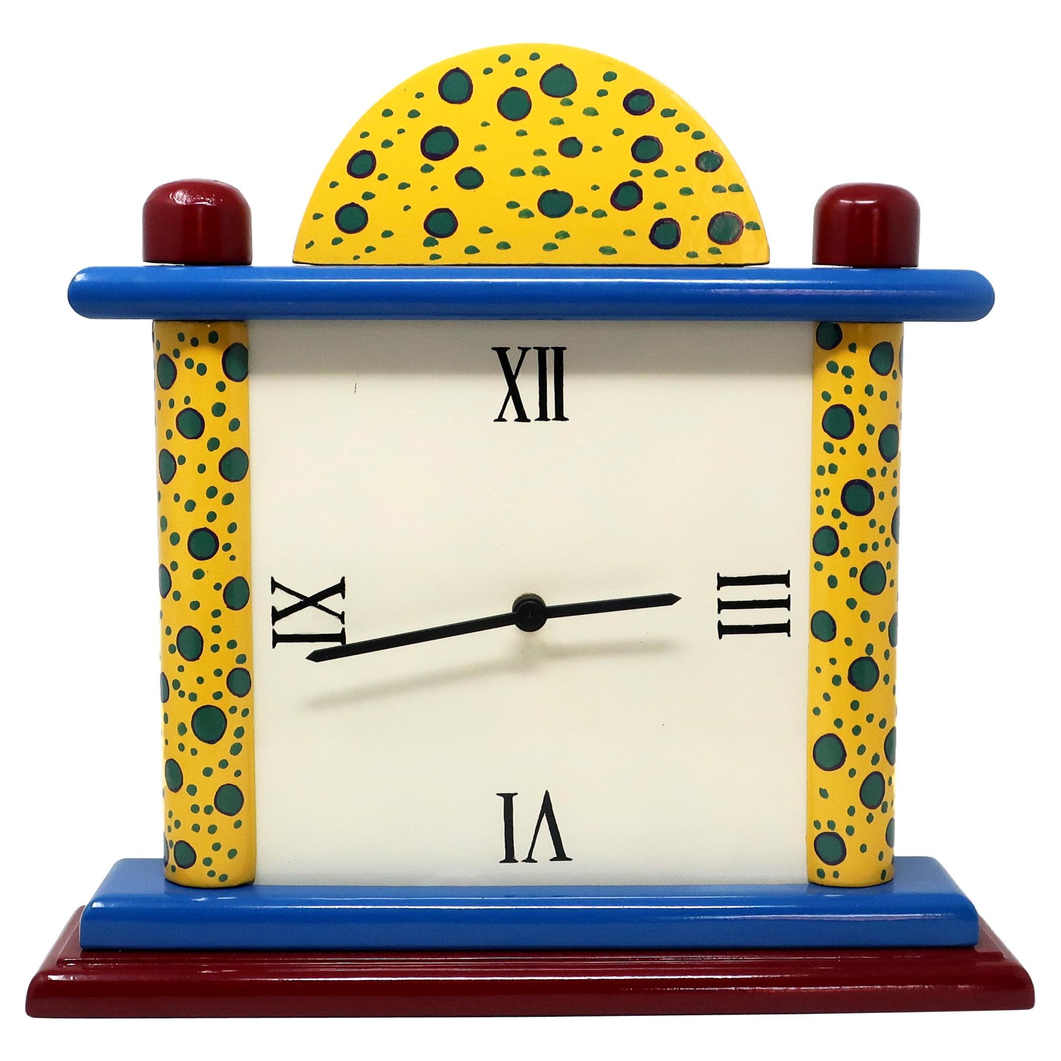 1980s Handmade Mantle Clock