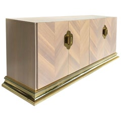 1980s Hollywood Regency-Style Cabinet, Mastercraft Attributed